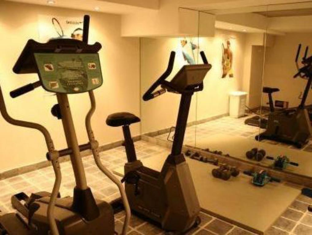 fitness centrum Ghent River Hotel