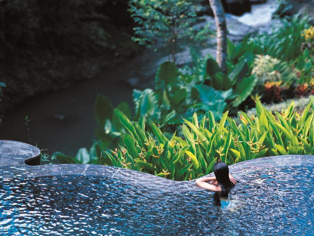 Zwembad Maya Ubud Resort and Spa
