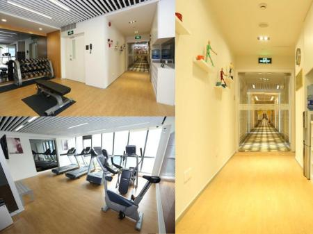 Fitness center Green Court Residence City Center - Shanghai
