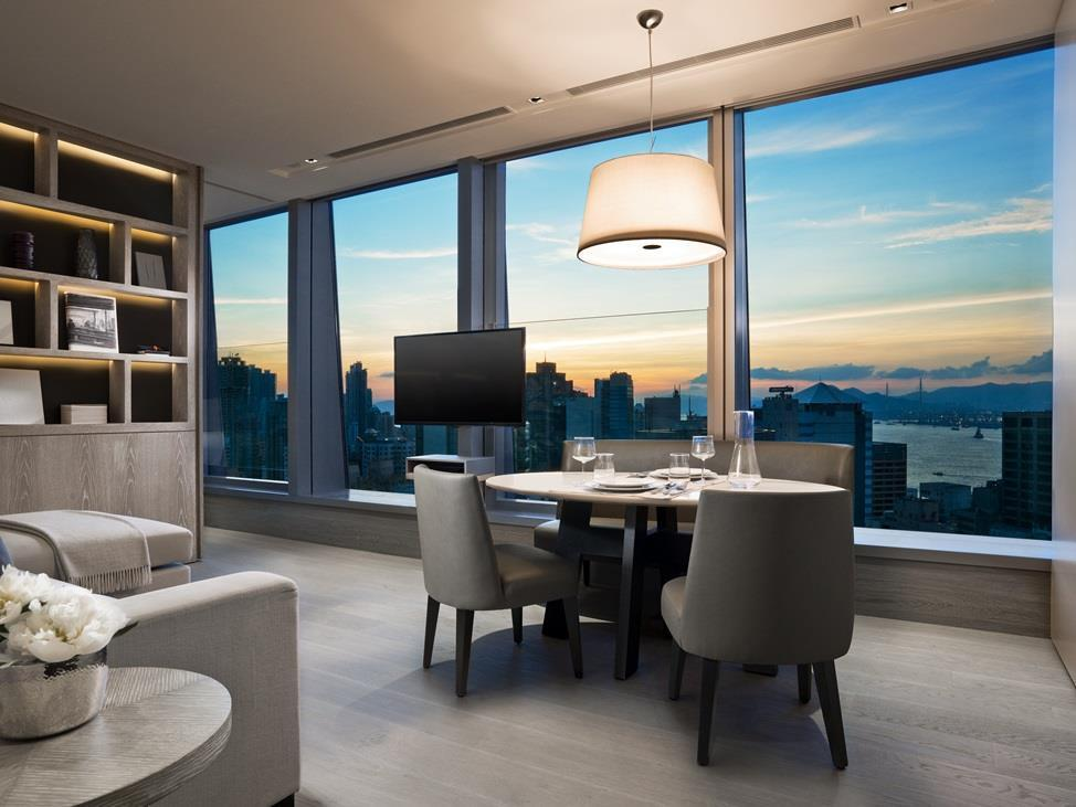 Harbour and City View Suite