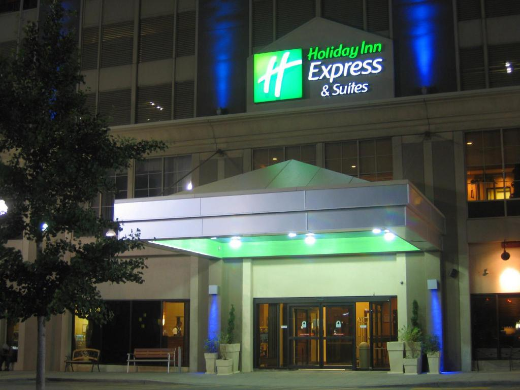 Pemandangan luar Holiday Inn Express & Suites Detroit Downtown