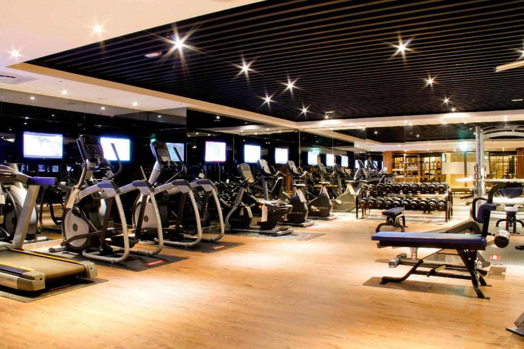 Fitness center Howard Prince Hotel Taichung
