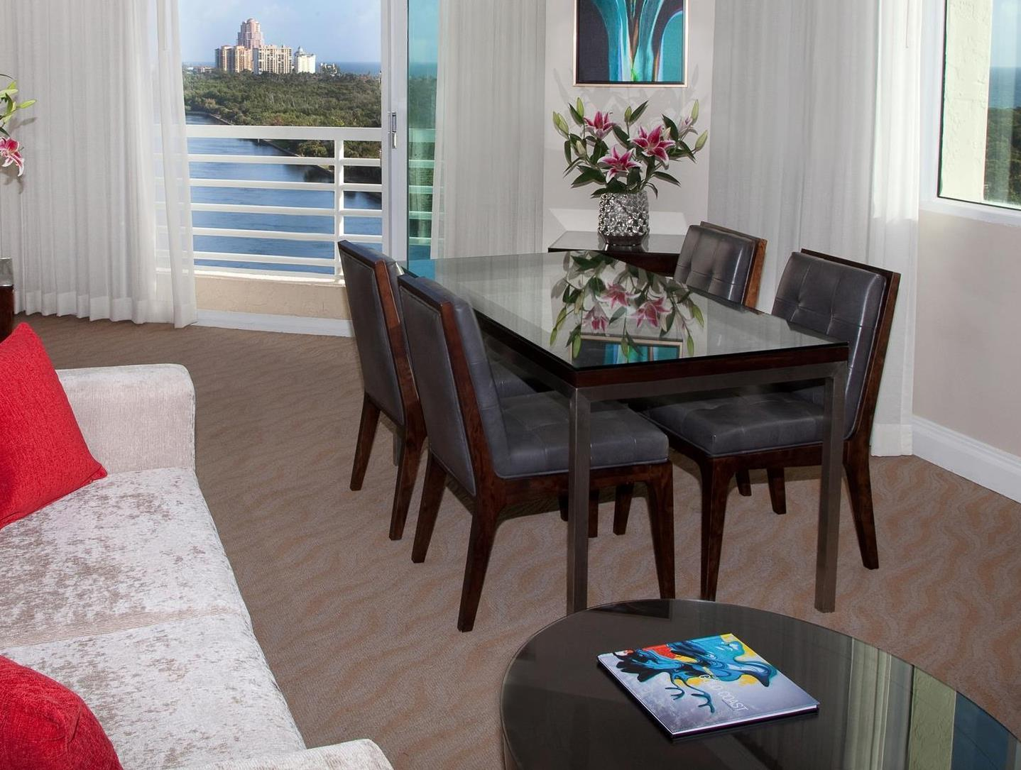 Panoramic Ocean-Intracoastal View Suite - King