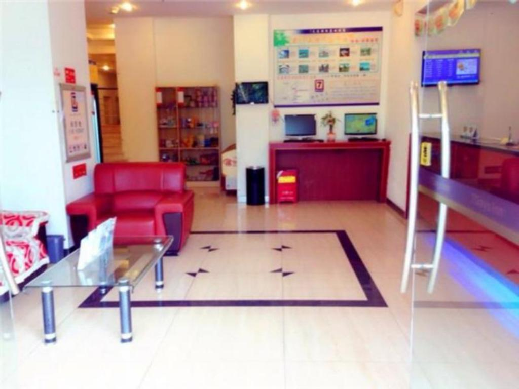 Лоби 7 Days Inn Xiamen Hubin South Road Branch