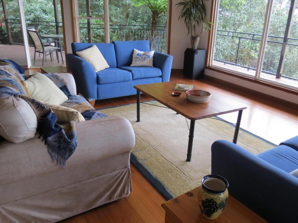 Interior view Braeside Bed and Breakfast Maleny
