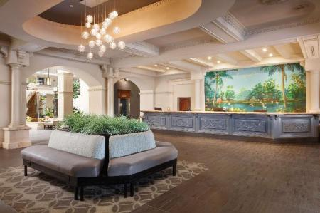 Lobby Embassy Suites Fort Lauderdale 17Th Street Hotel