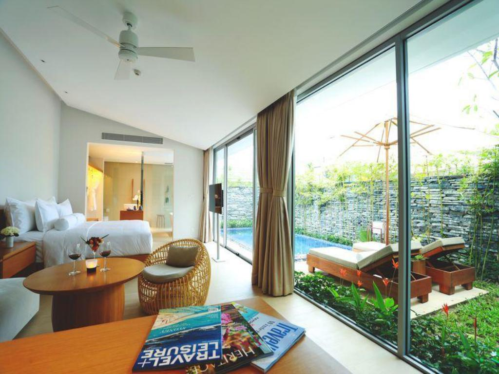 One Bedroom Pool Villa - 房間格局 峴港諾曼度假村 (Naman Retreat Resort)