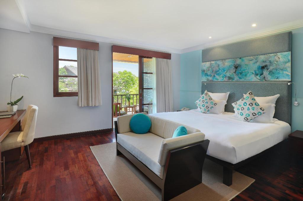 Deluxe King Bed with Balcony - View Novotel Bali Nusa Dua Hotel