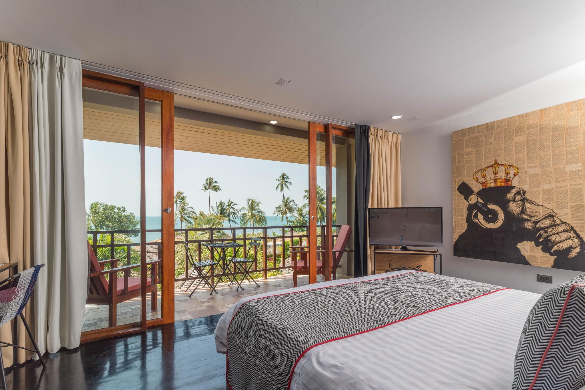 Kamar Sunset dengan Pemandangan Laut (Sunset Sea View Room)