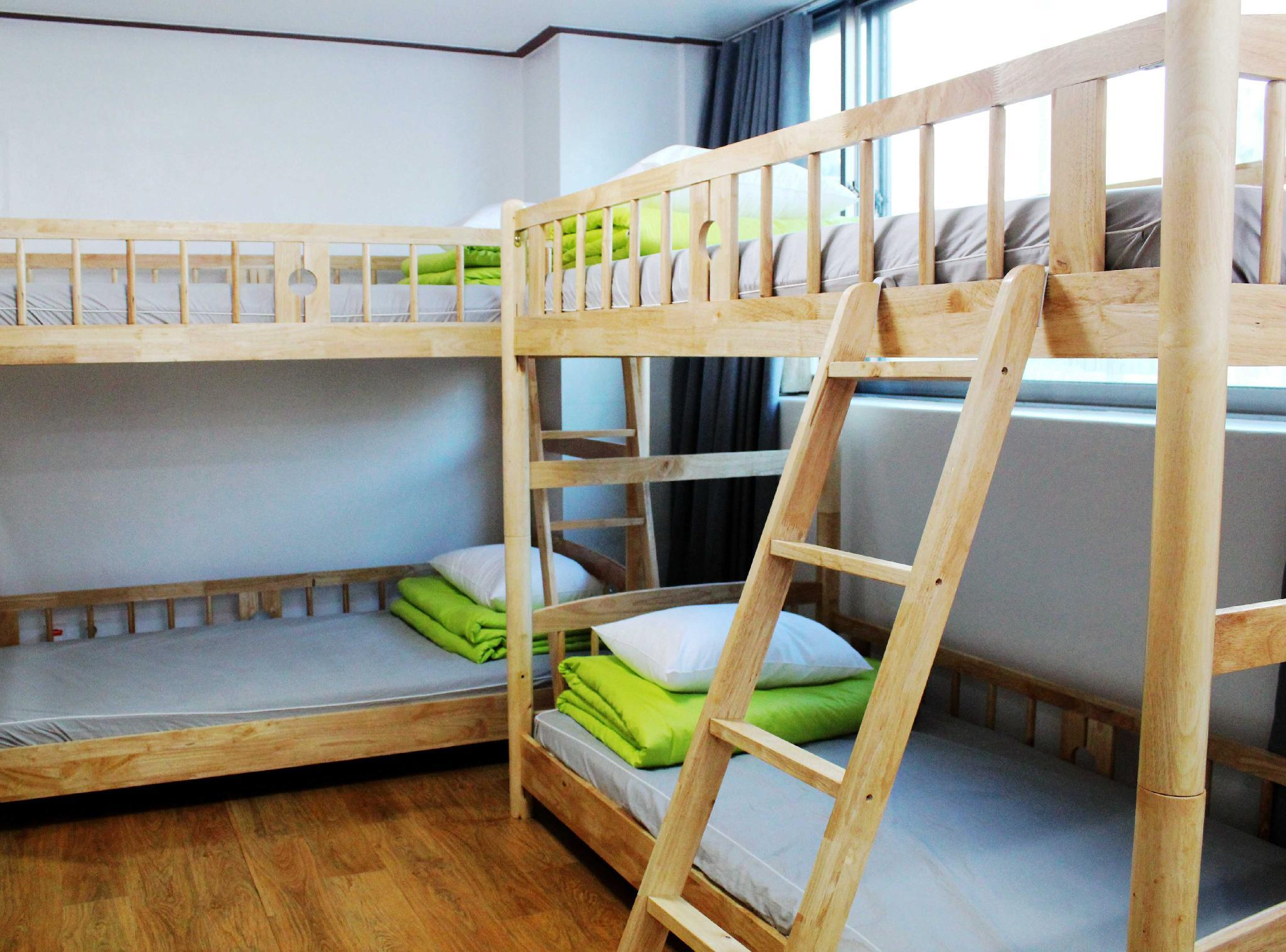 Bed in 4 Bed Female Dormitory with Private Bathroom
