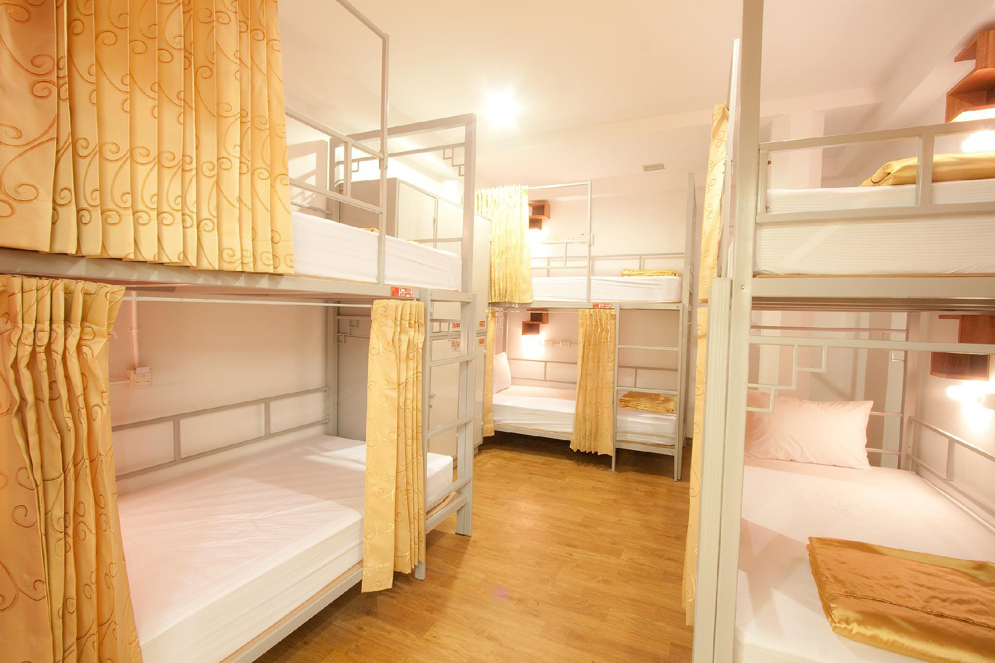 Privékamer voor 6 personen met stapelbed (Private Room for 6 People with Bunk Bed)