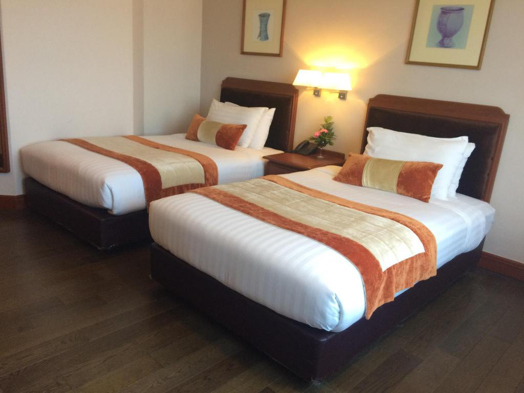 Twin Deluxe - Cama Toply hotel (Topland Hotel)