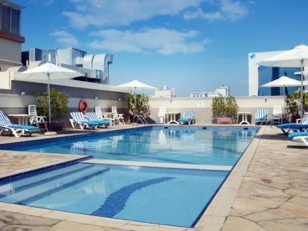Swimming Pool Rose Garden Hotel Apartments Bur Dubai