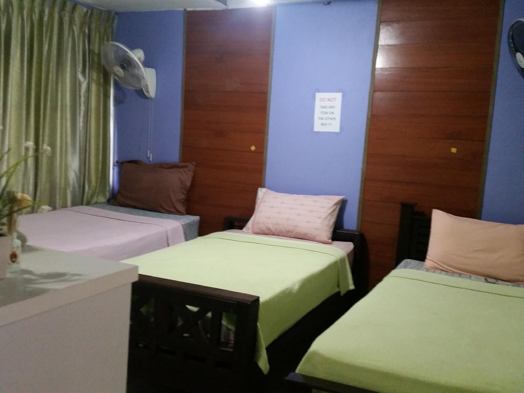1 Person in 6-Bed Standard Dormitory with Fan - Mixed