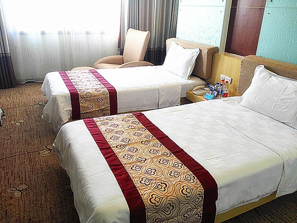 Business Twin Bed Minhang Hotel