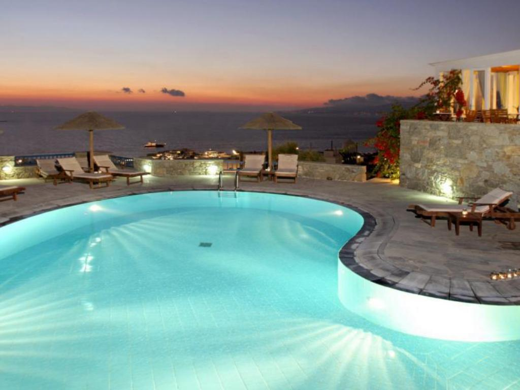 Swimming pool [outdoor] Hermes Mykonos Hotel
