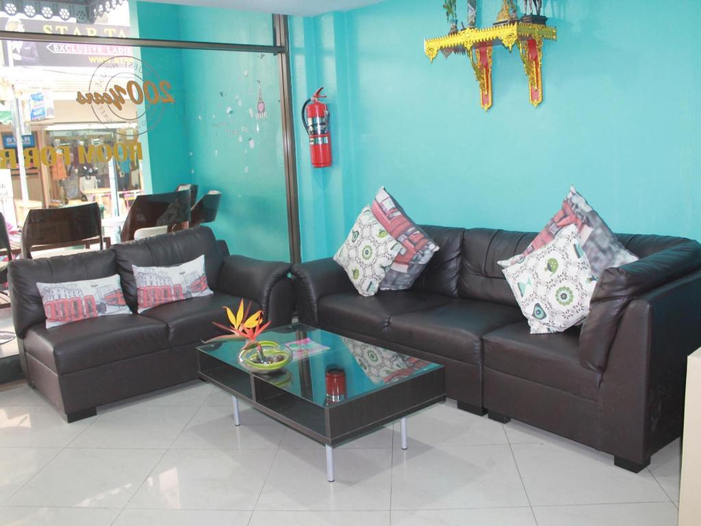 Empfangshalle Rayaan Guest House Phuket