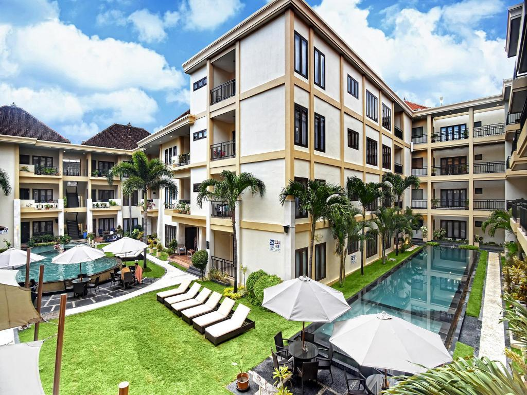 شقق كوتا تاون هاوس (Kuta Townhouse Apartments)