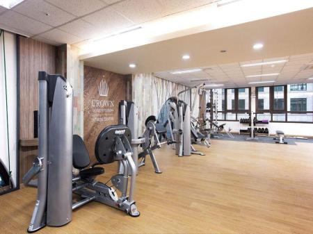 Fitness center Crown Harbor Hotel Busan