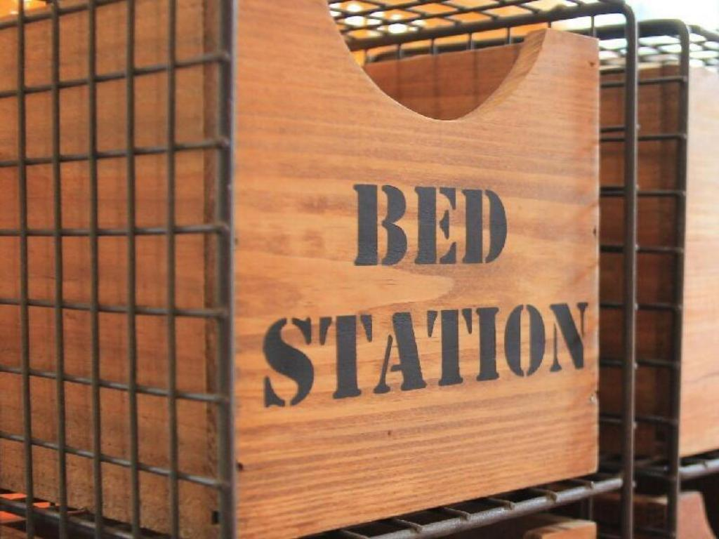 Interior view Bed Station Hostel