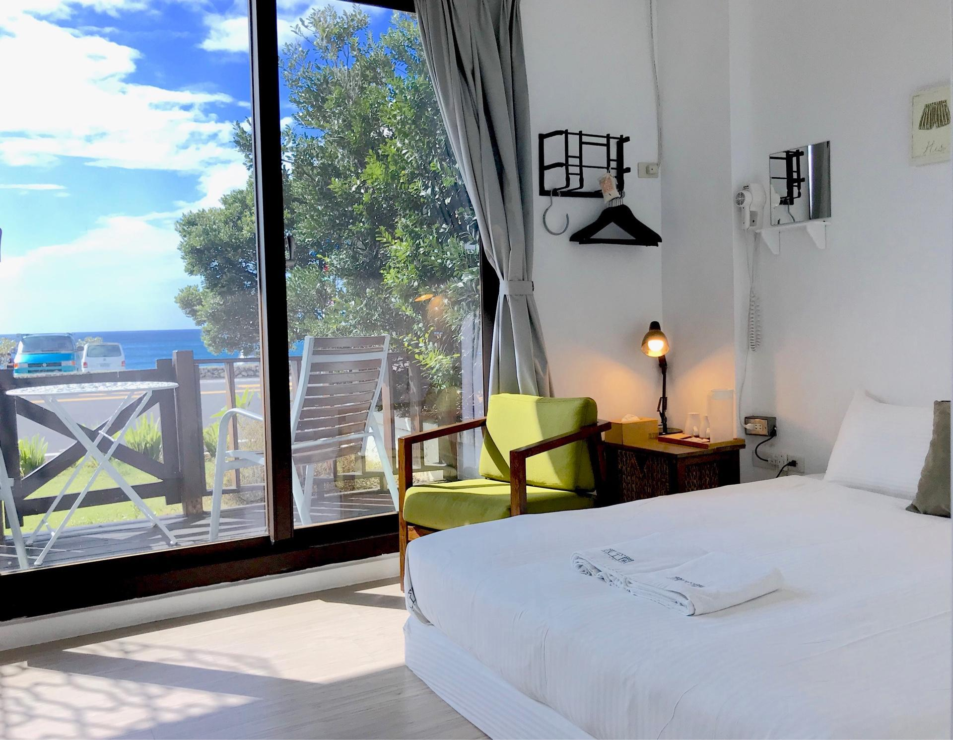 海景標準雙人房 (Standard Double Room with Sea View)