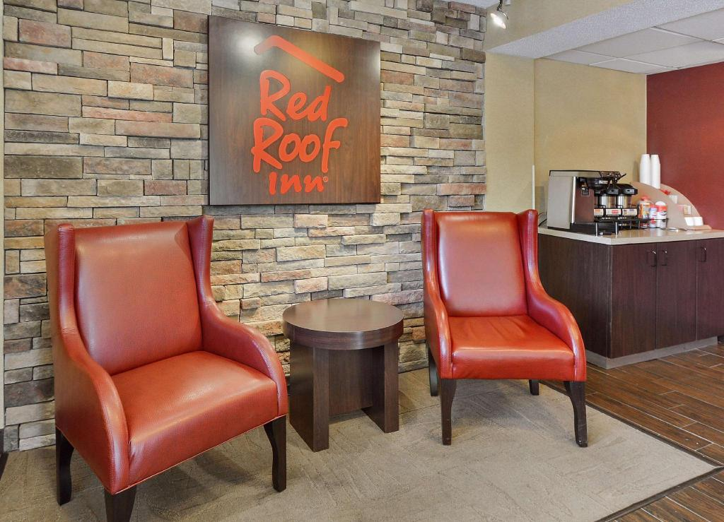 Lobi Red Roof Inn Merrillville