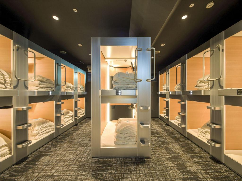 Capsule - Male Only - Bed New Japan Capsule Hotel Cabana For Men