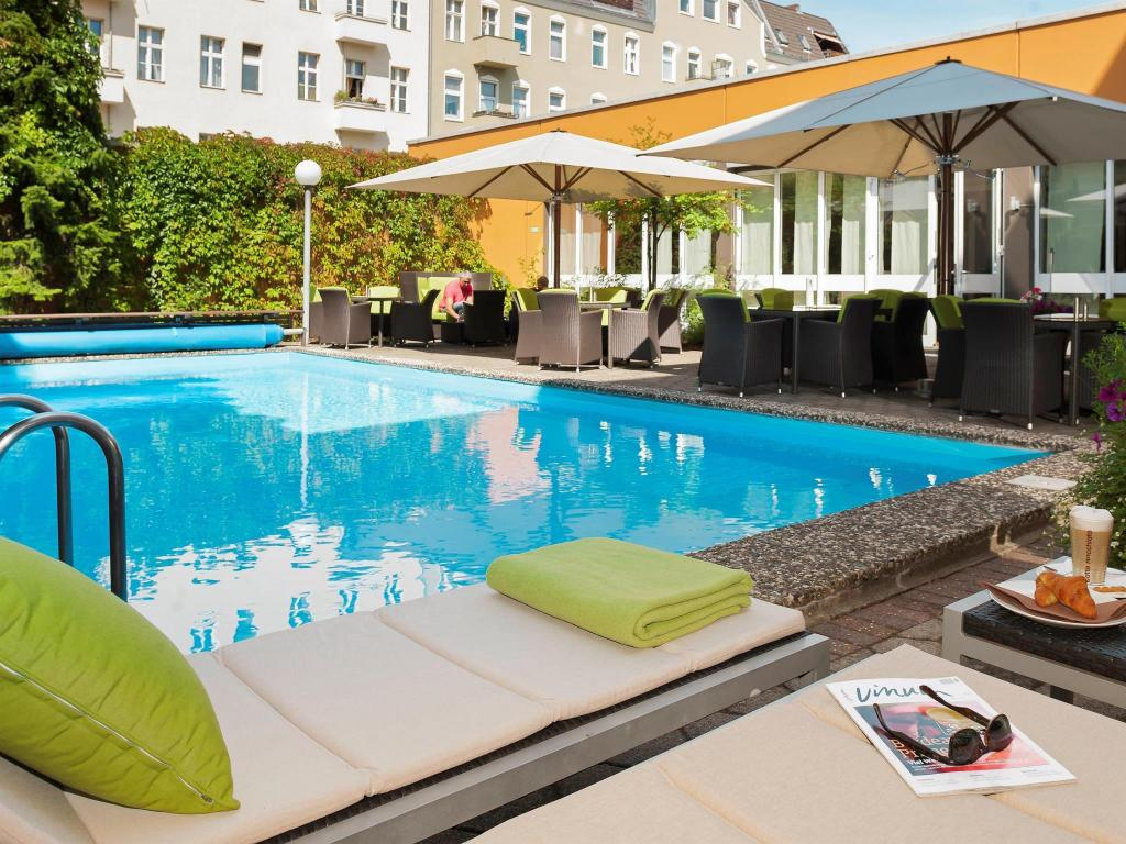 Πισίνα Mercure Hotel Berlin City West
