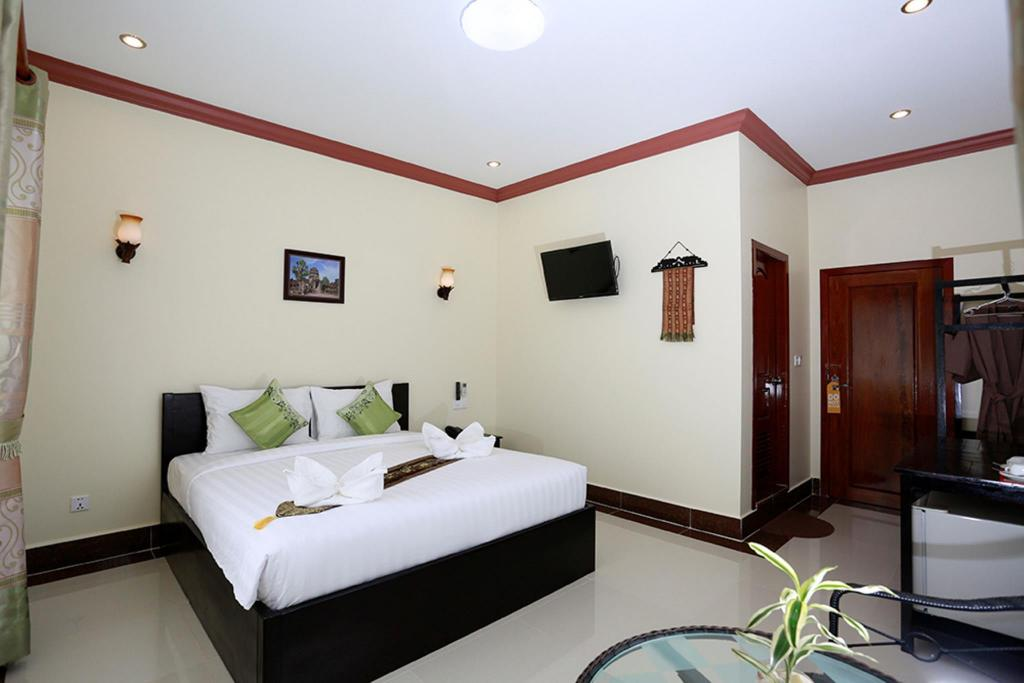 Deluxe Double Room - View Angkor Twinkle Boutique Villa