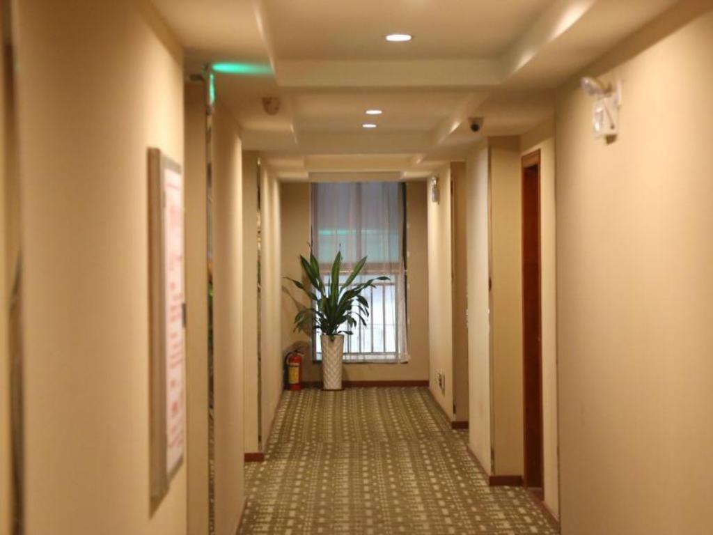 Hotellet indefra Green Tree Alliance Shunde Ronggui Lucky City Hotel
