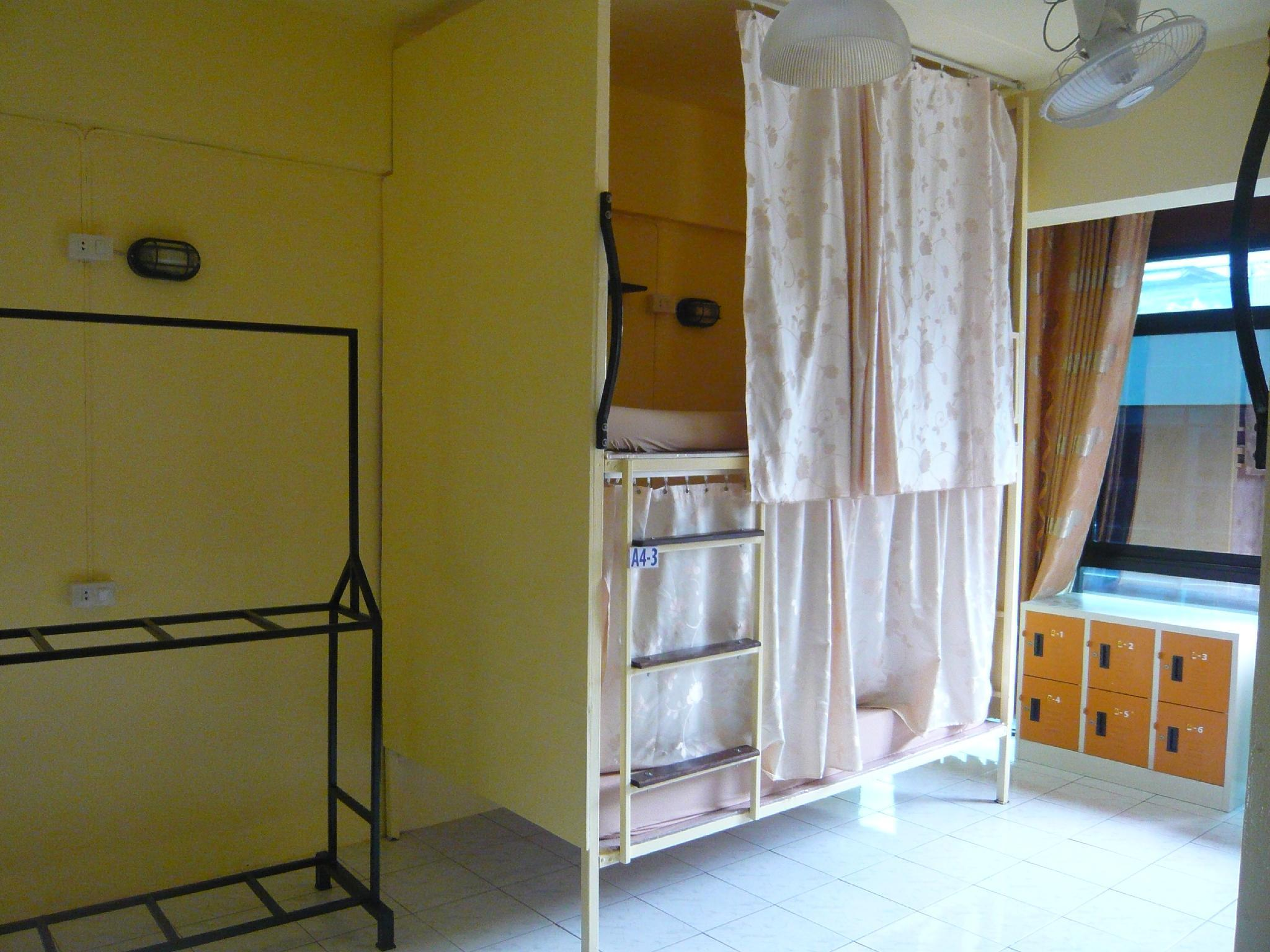 1 Person in 8-Bed Dormitory with Air Conditioning - Mixed
