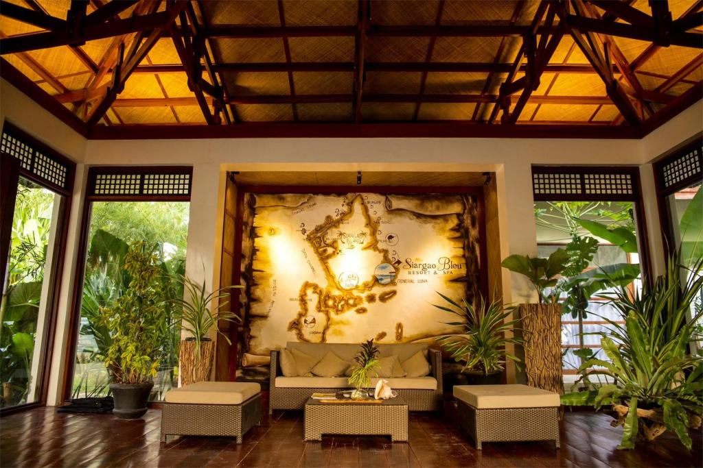 Lobby Siargao Bleu Resort And Spa