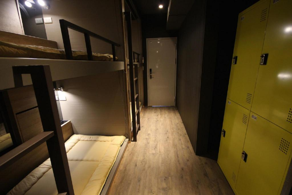 Bunk Bed (Four People) Next Taipei Hostel-Ximending