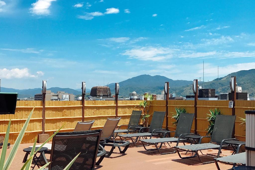 Sauna & Capsule Hotel Rumor Plaza (Male Only) - Sky Open-air bath in ...