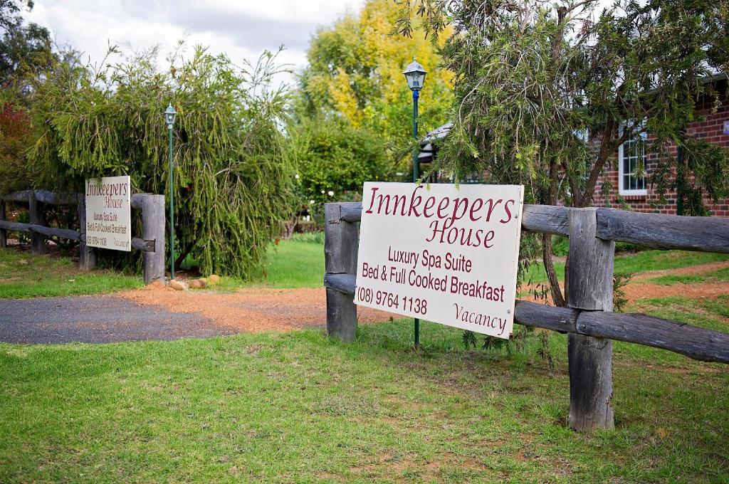 Entrance Blackwood Inn Innkeepers House