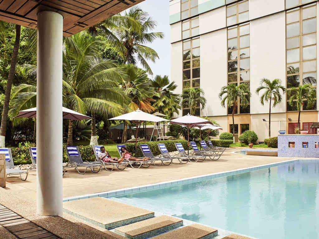 Swimming pool Novotel Accra City Centre Hotel