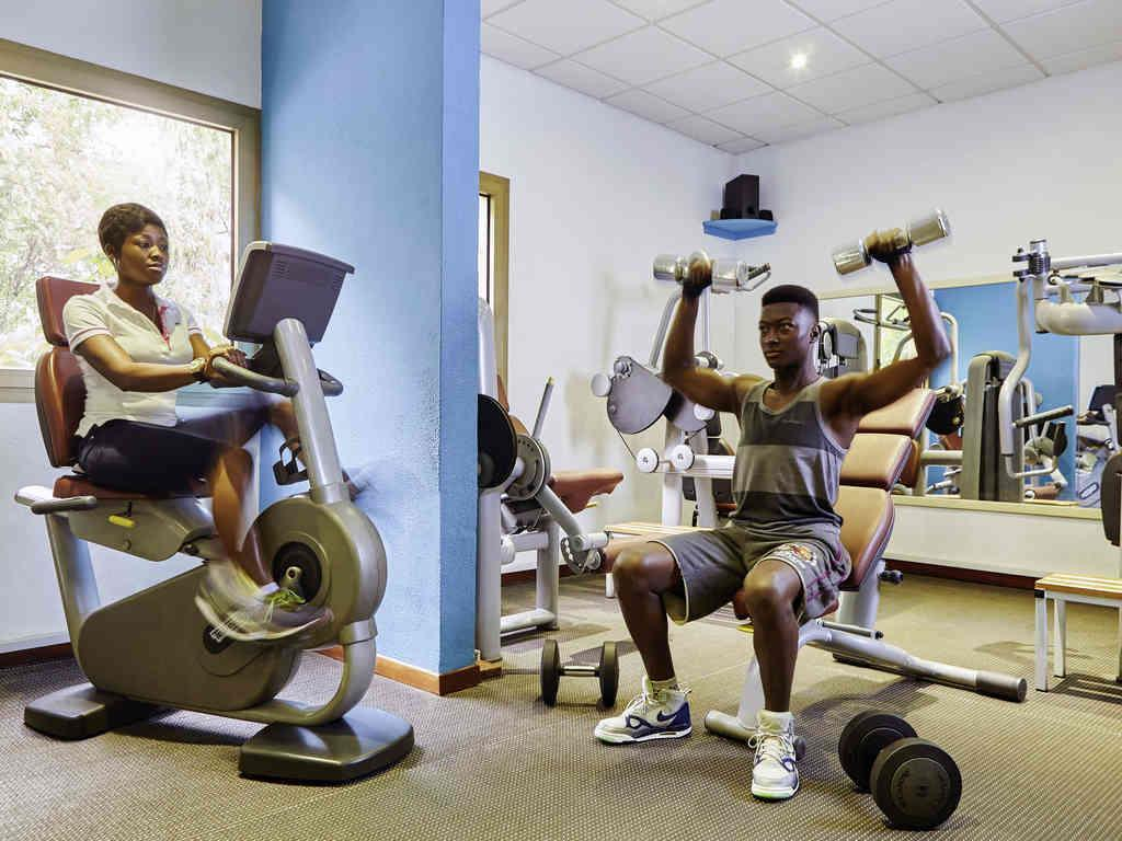 Fitness center Novotel Accra City Centre Hotel