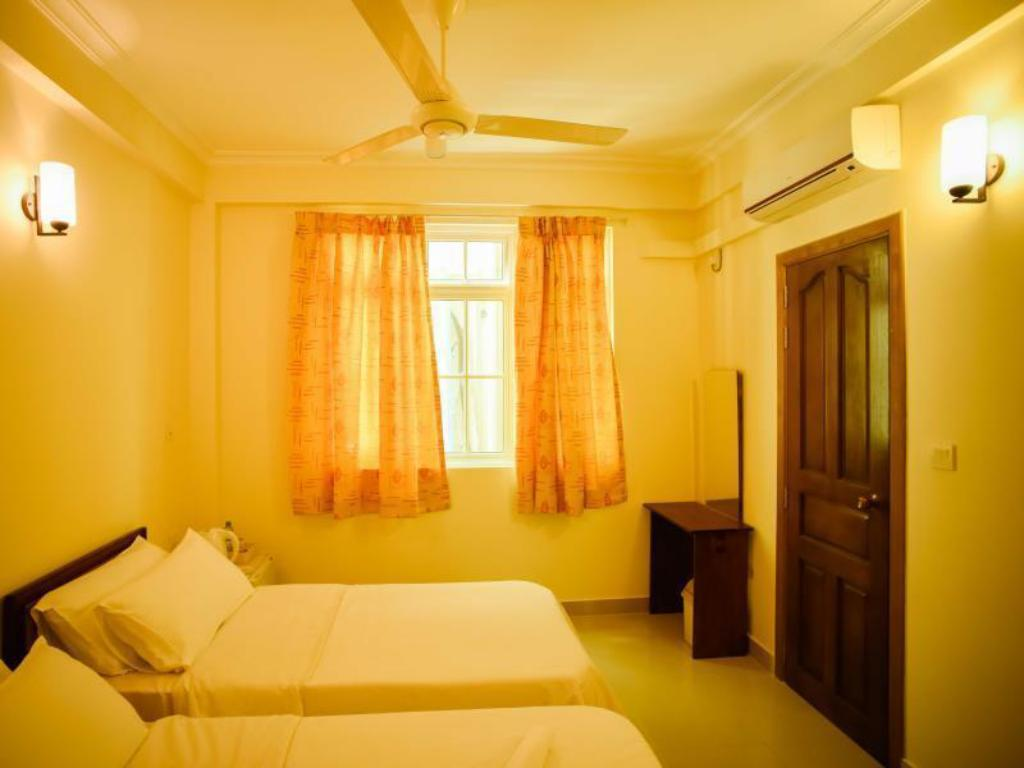 Deluxe Twin Bed Beach Grand and Spa Guesthouse