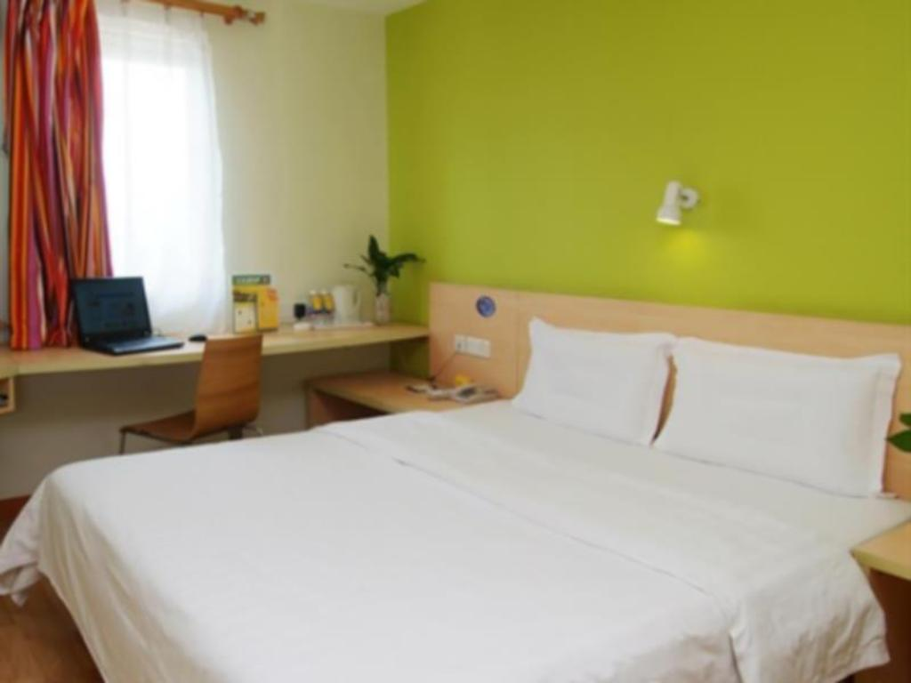 Standard Kingsize-Bett-Zimmer 7 Days Inn Dongguan Nancheng Exhibition Center 1st Branch