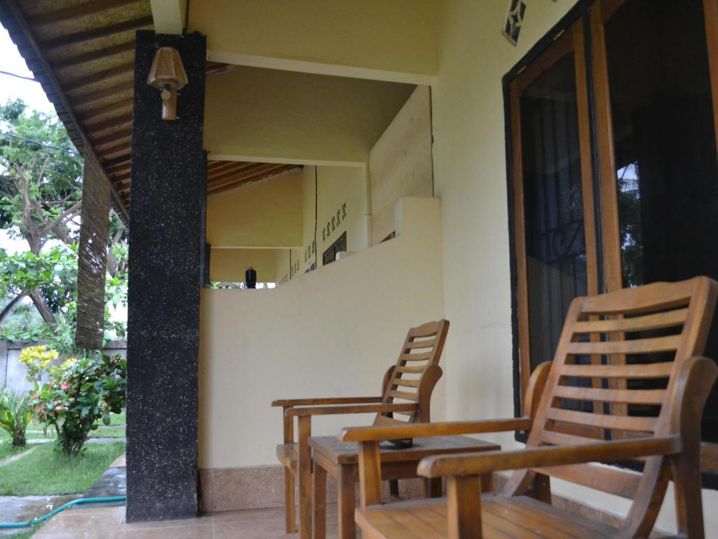 altan/terrasse Yamar Homestay and Restaurant