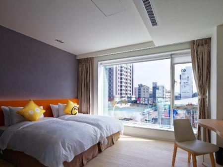 Standard Twin Room with 2 single beds Hotel 7 Taichung