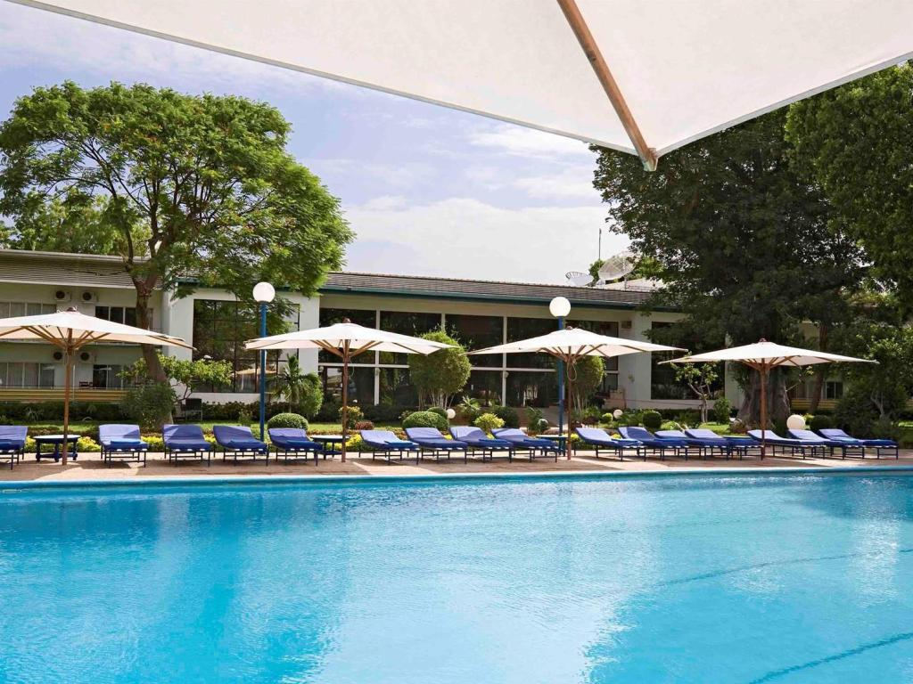 Swimming pool Novotel N Djamena La Tchadienne