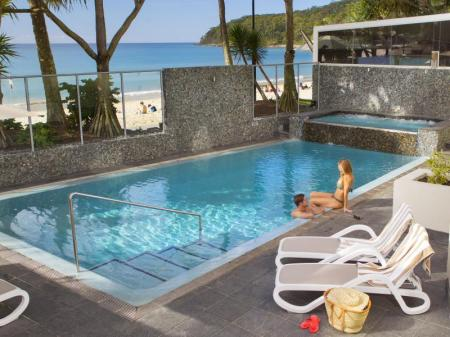 Swimming pool [outdoor] On The Beach Noosa Resort