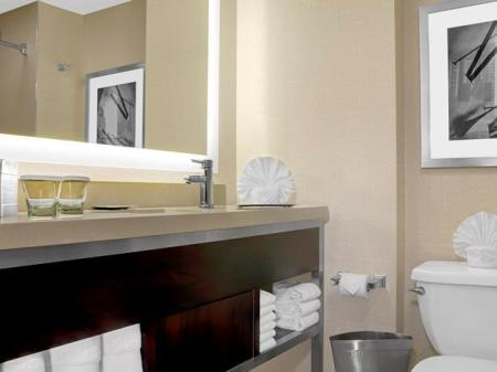 1 King Bed 1 Bedroom Deluxe Suite Hilton Times Square Hotel