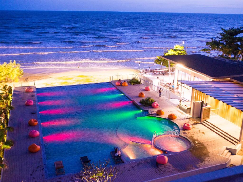 Interior View Sand Dunes Chaolao Beach Resort