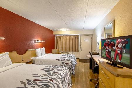 Superior 2 Full Beds Smoke-Free - Numura plāns Red Roof Inn Charleston - Kanawha City, WV