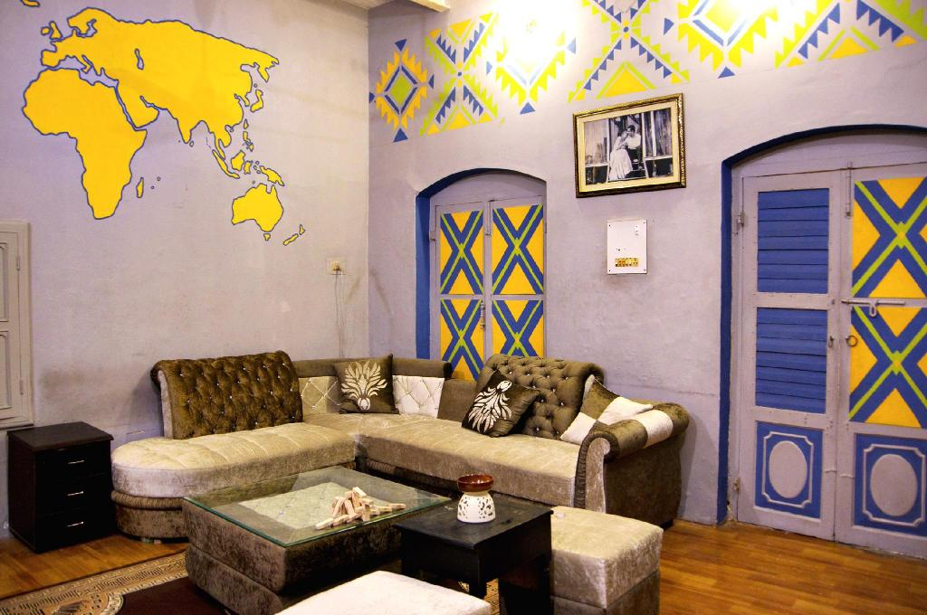 Interior view International Travellers Hostel and Bistro