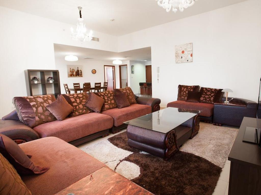 Apartament z 1 sypialną - Lounge Zenith Holiday Homes - Sadaf JBR Apartments