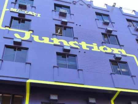 Exterior view Junction Hostels