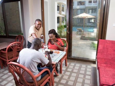 Coffee shop Diani Place Fully Furnished Apartments